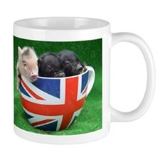 Tea Cup Piggies Small Mug