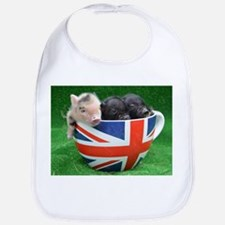 Tea Cup Piggies Bib