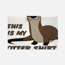 This Is My Otter Shirt Funny Rectangle Magnet