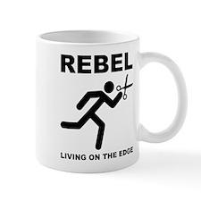 Running With Scissors Rebel Funny Mug