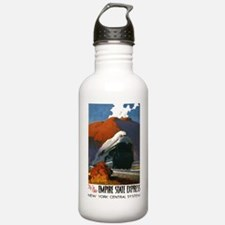 Empire State Express Railroad Travel Water Bottle