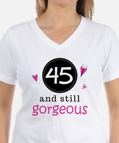 45th Birthday Gorgeous Shirt