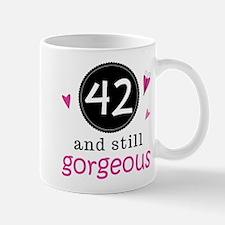 42nd Birthday Gorgeous Mug