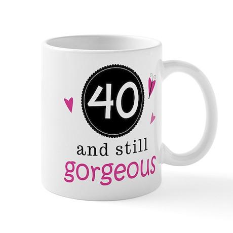 40th Birthday Gorgeous Mug