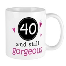 40th Birthday Gorgeous Mug
