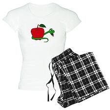 Serpent and Apple Cartoon Pajamas