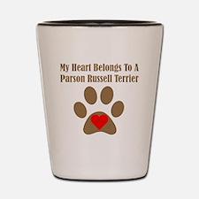 My Heart Belongs To A Parson Russell Terrier Shot