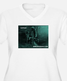 Grim Reaper support whosarat.com T-Shirt