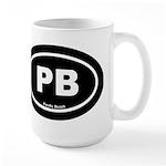 PBblack Mugs