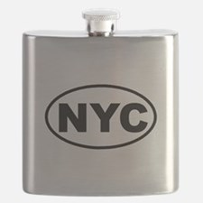Unique Wall street Flask