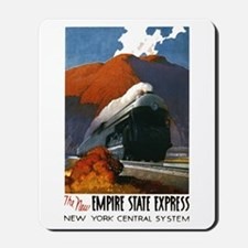 Empire State Express Railroad Travel Mousepad