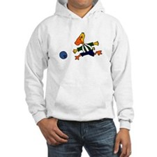 Funny Duck Bowling Hoodie