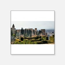 The Alhambra palace in Spain Sticker