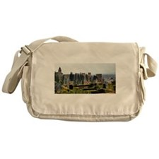 The Alhambra palace in Spain Messenger Bag