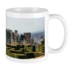The Alhambra palace in Spain Mug