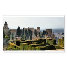 The Alhambra palace in Spain Decal