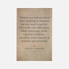 Alexis de Tocqueville Quote Rectangle Magnet