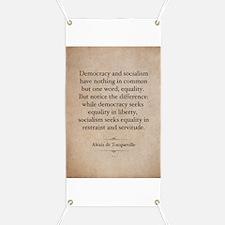Alexis de Tocqueville Quote Banner
