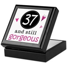 37th Birthday Gorgeous Keepsake Box