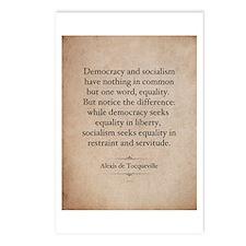 Alexis de Tocqueville Quote Postcards (Package of