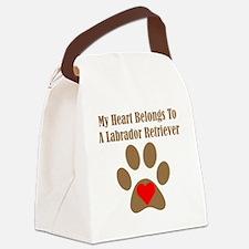 My Heart Belongs To A Labrador Retriever Canvas Lu