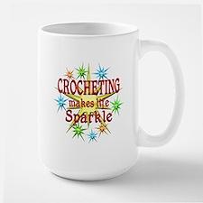 Crocheting Sparkles Mug