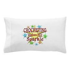 Crocheting Sparkles Pillow Case