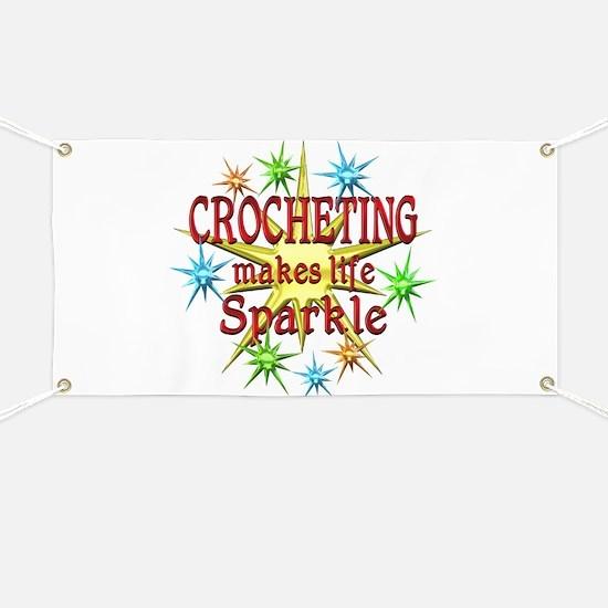 Crocheting Sparkles Banner