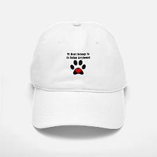 My Heart Belongs To An Italian Greyhound Baseball Baseball Cap