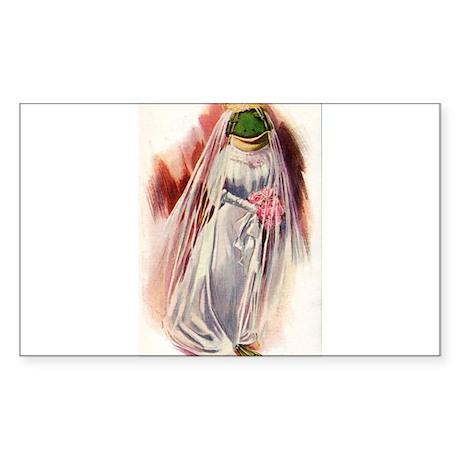 Frog Bride Sticker