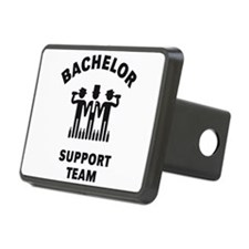Bachelor Support Team (Stag Party / Black) Rectang