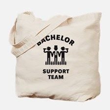 Bachelor Support Team (Stag Party / Black) Tote Ba