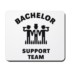 Bachelor Support Team (Stag Party / Black) Mousepa