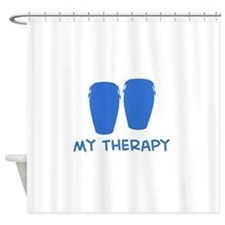 Conga my therapy Shower Curtain