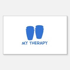 Conga my therapy Decal