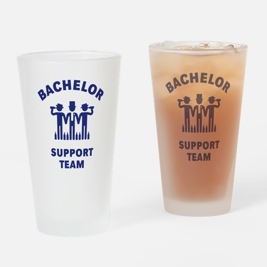 Bachelor Support Team (Stag Party / Blue) Drinking
