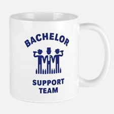 Bachelor Support Team (Stag Party / Blue) Mug