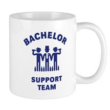 Bachelor Support Team (Stag Party / Blue) Coffee Mug