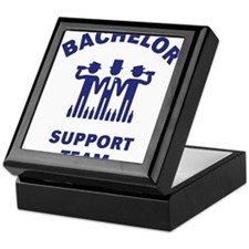 Bachelor Support Team (Stag Party / Blue) Keepsake