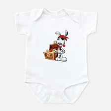 The Nauti Dog Pirate Infant Bodysuit