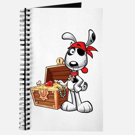 The Nauti Dog Pirate Journal