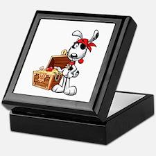 The Nauti Dog Pirate Keepsake Box