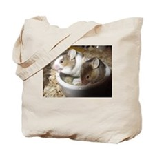 Mice in a bowl Tote Bag