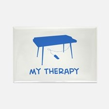 Keyboard my therapy Rectangle Magnet