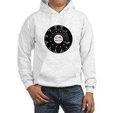 Rotary Faux -bw Hoodie