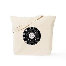 Rotary Faux -bw Tote Bag