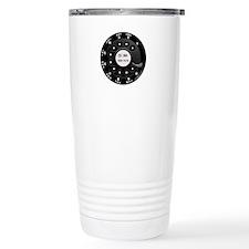 Rotary Faux -bw Travel Mug