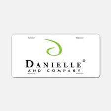 Danielle and Company Aluminum License Plate