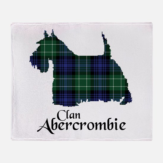 Terrier - Abercrombie Throw Blanket