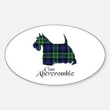 Terrier - Abercrombie Sticker (Oval)